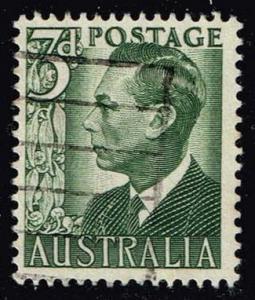 Australia #233 King George VI; Used (0.25)