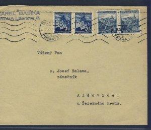 67965- CZECHOSLOVAKIA 1939 - CIRCULATED COVER
