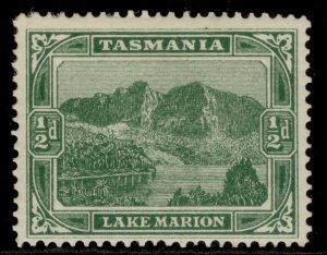 AUSTRALIA - Tasmania EDVII SG237, ½d green, M MINT.