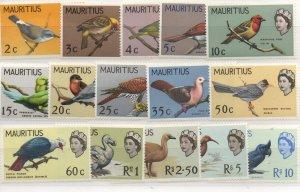 Mauritius 276-290 Set  Mint Never Hinged