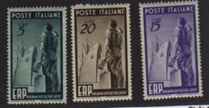 Italy #515-17 Mint NH   VF