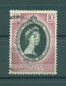 Malaya - Malacca sc# 27 (2) used cat value $.75
