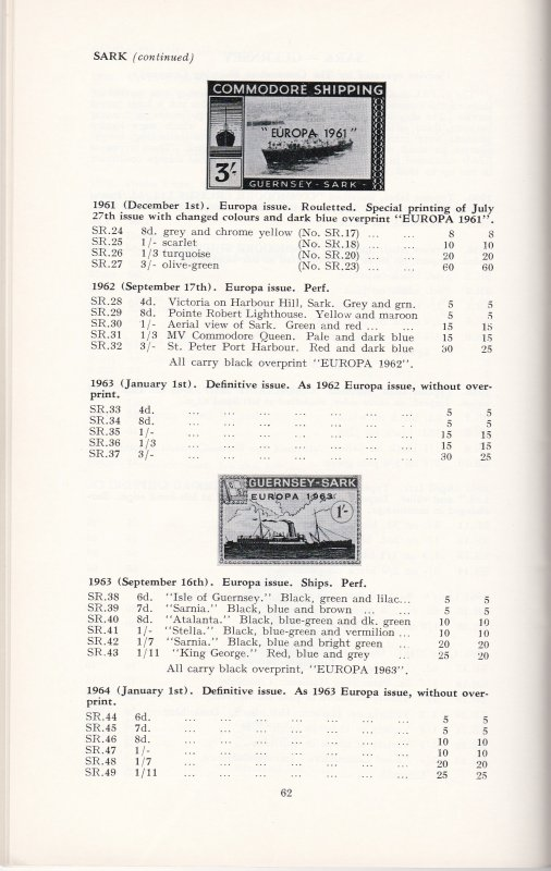 British Local Stamps Catalogue Issues to 1969