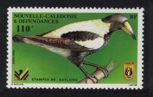 New Caledonia Black-backed Magpie 110f SG#791