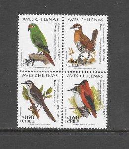BIRDS - CHILE #1356  MNH