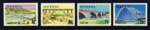 RHODESIA QE II 1969 Bridges of Rhodesia Set SG 435 to SG 438 MINT