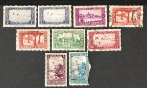Algeria 1936-41 #79//99, Used & MH W/ faults, CV $3.05