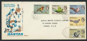 1967 Qantas FFCover - Mauritius to Sydney AAMC 1600a SPECIAL see details