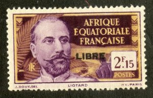 FRENCH EQUATORIAL AFRICA 114 MH SCV $4.00 BIN $1.75 PERSON