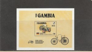 GAMBIA 629 SOUVENIR SHEET MNH 2014 SCOTT CATALOGUE VALUE $4.75