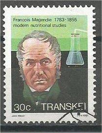 TRANSKEI, 1985, used 30c, Magendie. Scott 111
