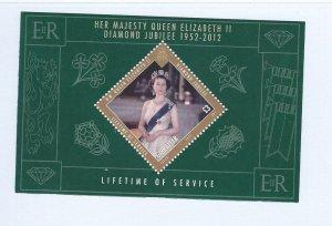 Gibraltar souvenir sheet   mnh  sc  1325