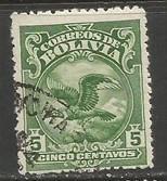 BOLIVIA 189 VFU CONDOR BIRD X275-5