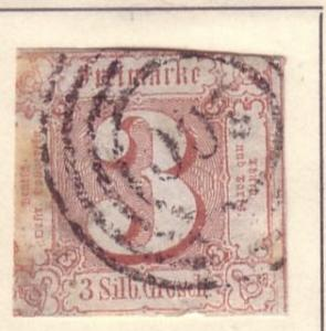 * Thurn & Taxis Sc. # 12 Used 2