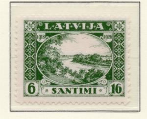 Latvia 1928 Early Issue Fine Mint Hinged 16s. 215349