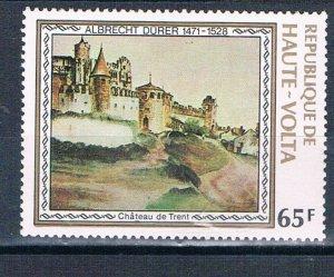 Burkina Faso 481 MNH Trent Castle Painting 1978 (HV0300)+