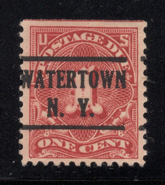 US# J61 - Perf. 11 (Unwatermarked) Postage Due - Used
