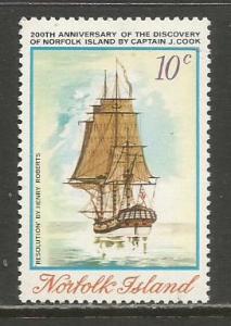 Norfolk Is.  #176  MNH  (1974)  c.v. $1.60