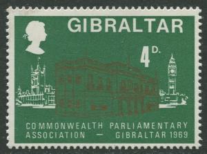 Gibraltar #219 MNH  Scott CV. $0.25.