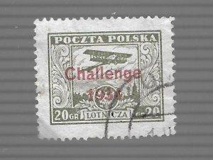 Poland 1934 - Scott #C11 *