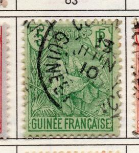 French Guinea 1904 Early Issue Fine Used 5c. 193447