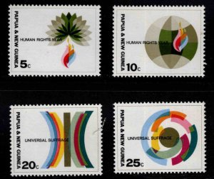 Papua Scott 261-264  MNH** Human Rights set