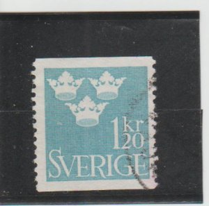 Sweden  Scott#  656  Used  (1964 Three Crowns)