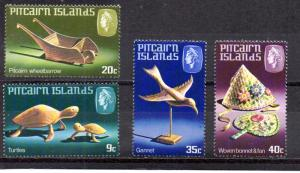 Pitcairn Islands MNH 194-7 Handicrafts