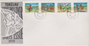 Tokelau Islands 1978 Sports Issue First Day Cover