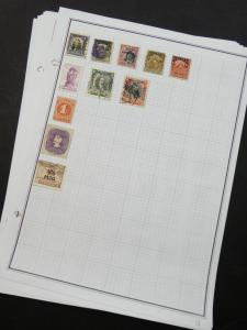 EDW1949SELL : CHILE Collection of 169 different on album pages. Scott Cat $170.