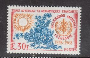 French Southern Antarctic Territory #31 Very Fine Never Hinged