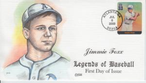 2000 Jimmie Foxx Legends Baseball (Scott 3408n) Collins