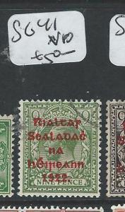 IRELAND (PP0808B) ON GB KGV 9D    SG41  VFU