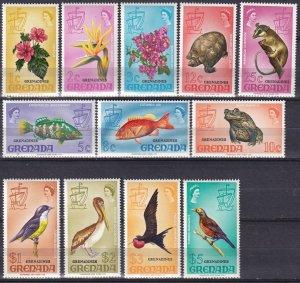 Grenada Grenadines #3-14  MNH CV $16.55  (Z7862)