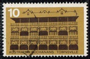 Australia #585 Buchanan's Hotel; Used (0.35) (2Stars)