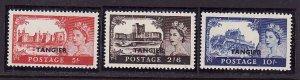 GBOA-Tangier-Sc#576-8-unused NH set-QEII-Castles-1955-