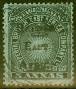 B.E.A KUT 1895 5a Black-Grey Blue SG40 V.F.U