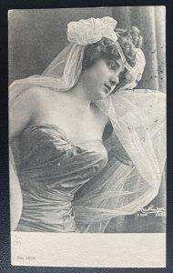 1918 Army PO Palestine Picture Postcard Cover To Port Said Egypt