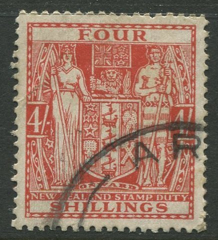 STAMP STATION PERTH New Zealand #AR49 Postal Fiscal Issue Used 1967 CV$8.00