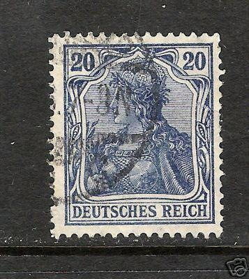 GERMANY 84a VAR VFU C445