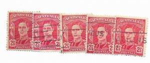 Australia #194 Used - Stamp PICK ONE