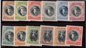Barbados #140 - #151 VF Mint Set