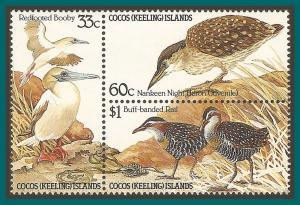 Cocos 1985 Birds, MNH 134a,SG132a