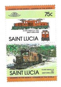 ST Lucia 1984 - MNH - Scott #677 *