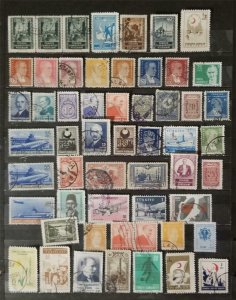 TURKEY Early Stamp Lot Used T2784