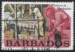 [12559] Barbados # 380 Used