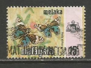 Malaya-Malacca   #79a  used  (1977)  c.v. $0.75