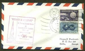 1/3/61 ELGIN AIR FORCE BASE, FL AIR PROVING GROUND CENTER--AROCS TEST