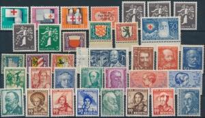 Thematic lot stamp 1928-1965 35 stamps MNH 1928 WS192710
