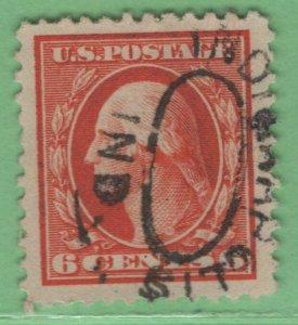 $US Sc#506 used XF-Sup JUMBO
